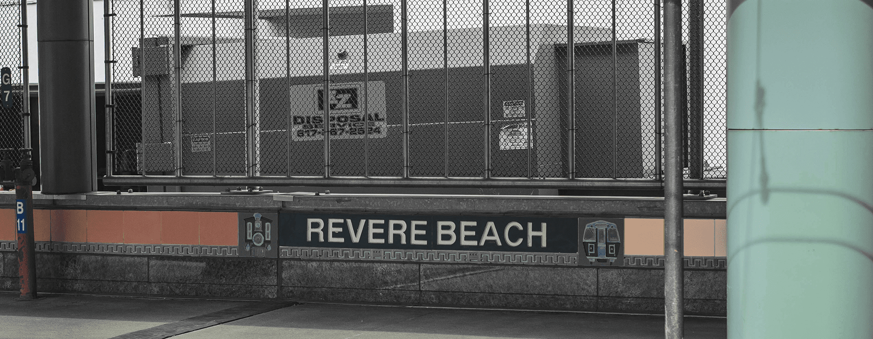 lifestyle image of signage for revere beach